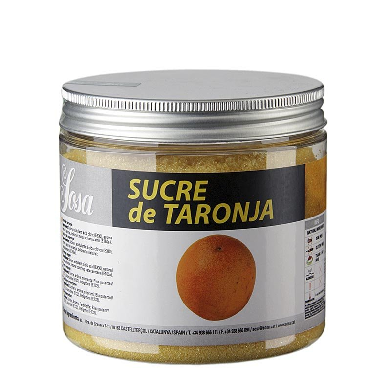 Sosa Zucker mit Orangenaroma, 500 g