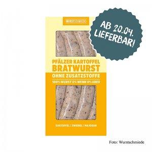 Wurstschmiede - Die Pfälzer Kartoffelbratwurst, 260 g, 4 Stück