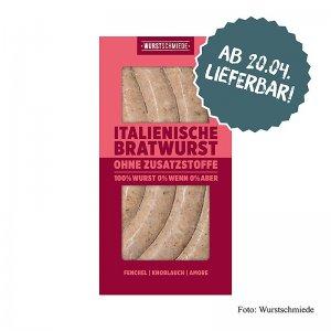 Wurstschmiede - Die Italienische Bratwurst, 260 g, 4 Stück