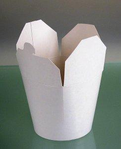 Einweg Take Away Box Asia, unbedruckt, 750 ml, Fold-Pak, 1 Stück