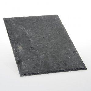 Schieferplatte, natur, 20 x 30 cm, 1 Stück