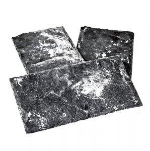 Schieferplatte, natur, 8 x 15 cm, 1 Stück