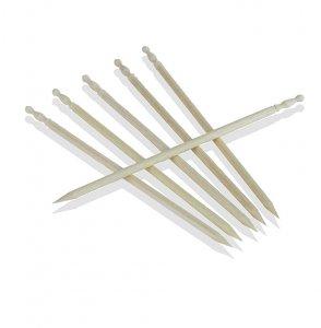 Holz-Spieße, Party Picker, klein, geschnitztes Griffstück, 7,5 cm, No.8, 1.000 Stück