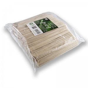 Holz-Spieße, Pure, für Zuckerwatte, mit stumpfen Enden, 15 cm, 1.000 Stück