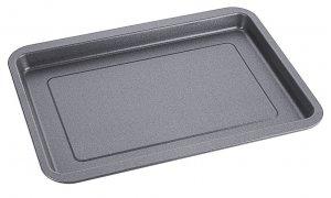 Antihaft-Backblech aus 0,6 mm starkem Stahl, PTFE antihaft-beschichtet, 39,5 cm x 30 cm x 2,5 cm