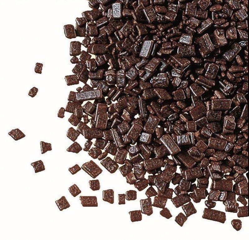 Dekor Choco Chips, dunkle Schokolade, für Dekorationen, DreiDoppel, 5 kg