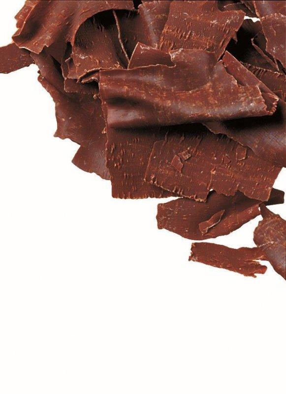 Dekor Dunkle Späne, dunkle Schokolade, für Dekorationen, DreiDoppel, 2 kg