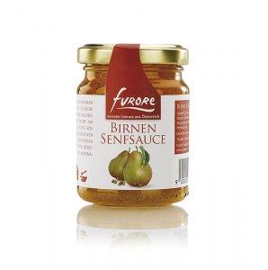 Furore - Birnen-Senf-Sauce, mit Stücken, 130 ml