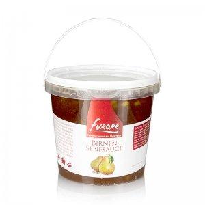 Furore - Birnen-Senf-Sauce, mit Stücken, 1,3 kg