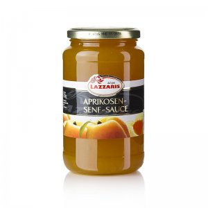 Lazzaris - Aprikosen-Senf-Sauce, nach Tessiner Art, 750 g
